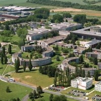 Vue aérienne de l'un des sites de l'Université Paris Saclay